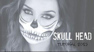 Halloween Skull Head | Tutorial | Rachel Kromdijk