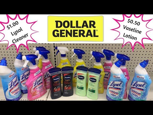 Dollar General $0.50 Vaseline/ $1.00 Lysol !! Do this deal now ????????