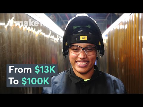 Making $100K A Year As An Ironworker In NYC   On The Job