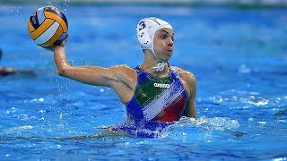 Italy vs Slovakia - Highlights - Waterpolo Women Olympic Qualification