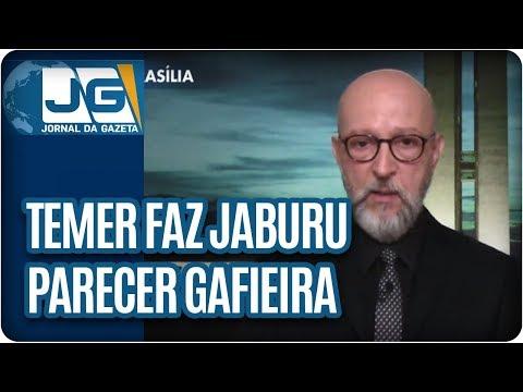 Josias de Souza/Temer faz Jaburu parecer gafieira