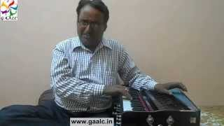 Malkauns raag Maan tadpat Bhajan lessons Hindi Light vocal Learn Singing classical Bhajan Online