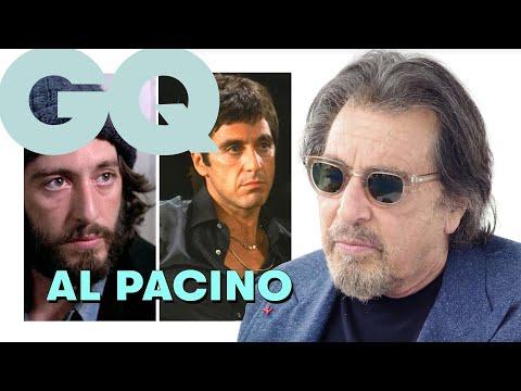 Al Pacino nous parle de ses rôles cultes dans Scarface, Le Parrain et Serpico | GQ