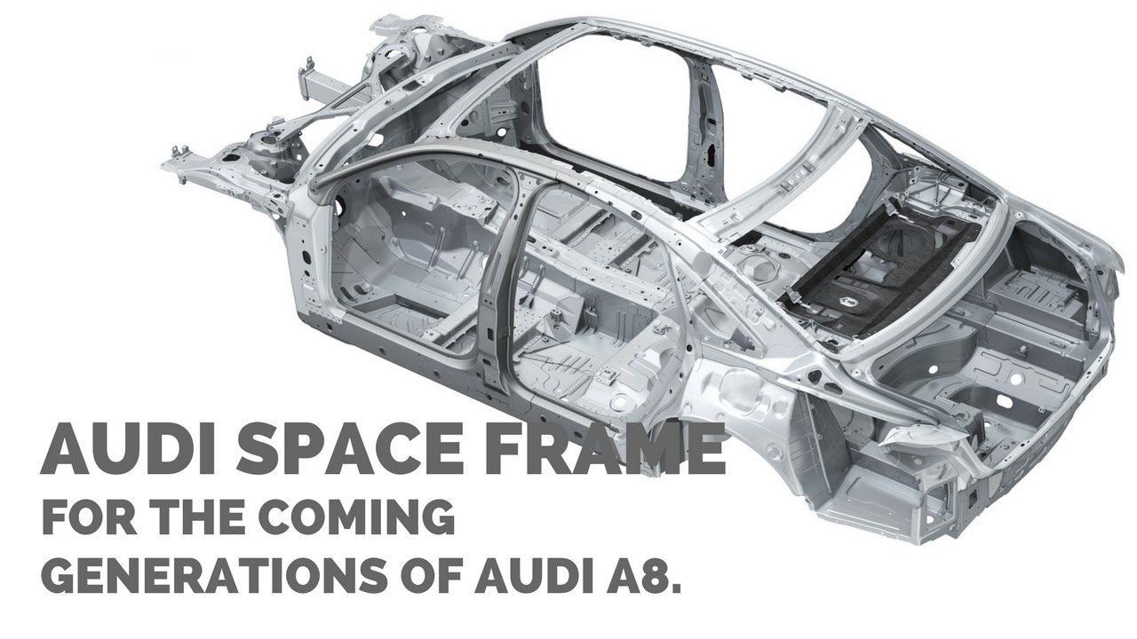 2018 Audi A8 Space Frame With a Unique Mix Of Materials ...