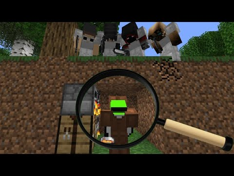 Minecraft Manhunt Analysis (4 Hunters Rematch)
