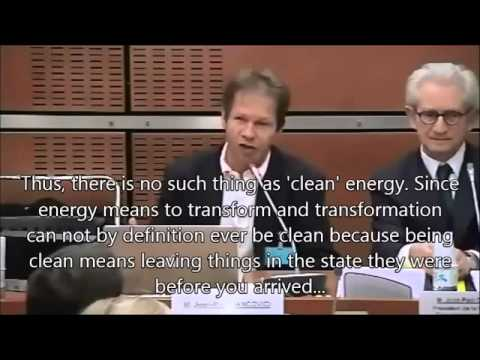 French engineer schools politicians on the physics of energy