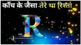 R name status video's | whatsapp status | #husain@2476