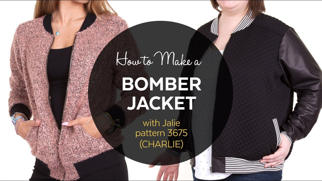 DIY // How to Make a Bomber Jacket // Sewing Tutorial - YouTube