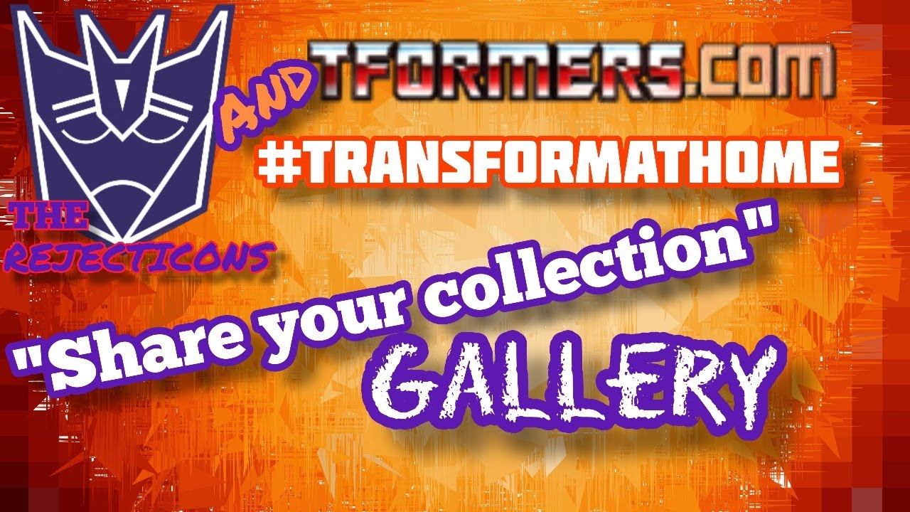 #TransformAtHome - Share Your Collection Hang Out Today!