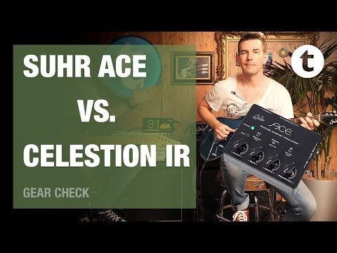 Does Pete Thorn prefer Mics or IRs? | Part 2 | Suhr Ace vs. Celestion IRs vs. real Mic | Thomann