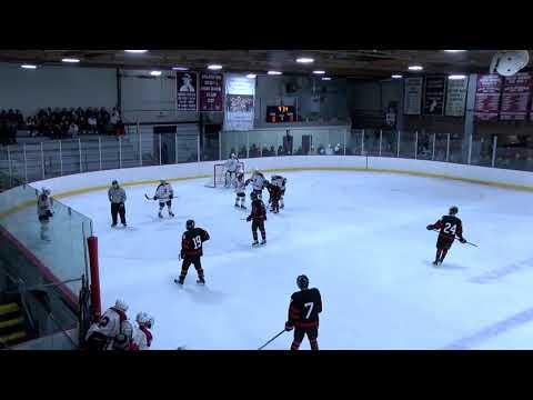 Arlington High School Boys Hockey VS Pope Francis - January 20, 2020