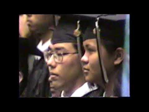 Jeffery Graduation Simon Sanchez High School   2000