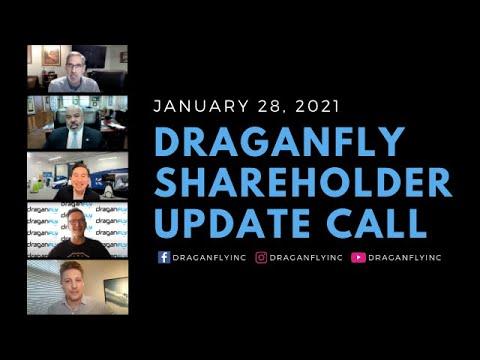 Draganfly Shareholder Update Call - January 28, 2021