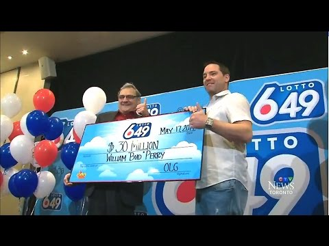 'There's the dream': Retired Ont. man wins $30M lotto prize