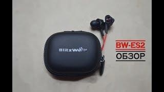 BlitzWolf BW-ES 2. Наушники для БАСХЭДОВ 2 (два). ОБЗОР.