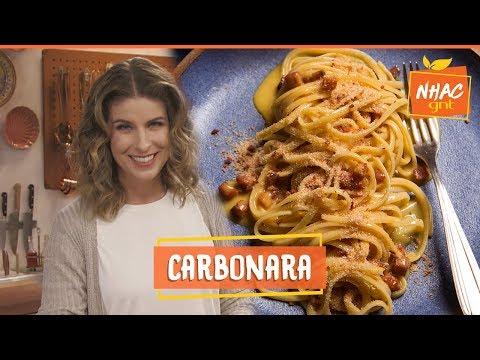 Macarrão à carbonara: aprenda a fazer receita tradicional italiana | Rita Lobo | Cozinha Prática