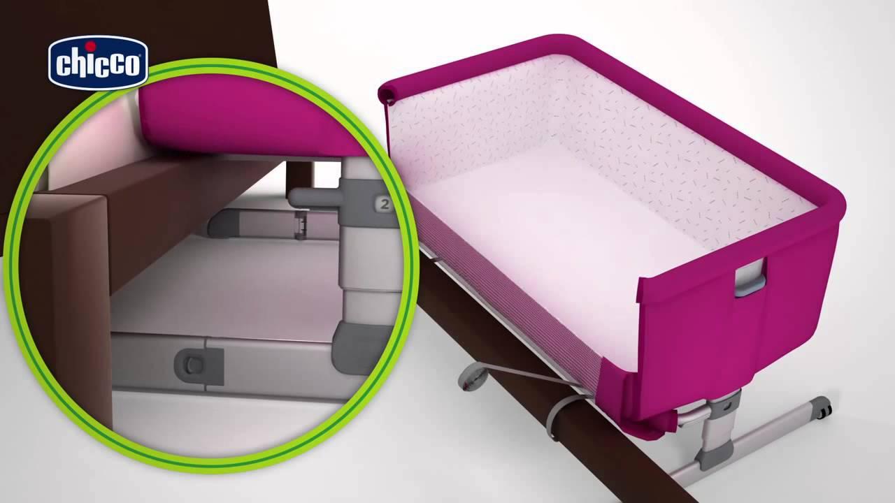Детская кроватка детская Chicco Next2me