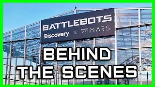 Behind the Scenes at Las Vegas // Amazon re:MARS BattleBots Challenge