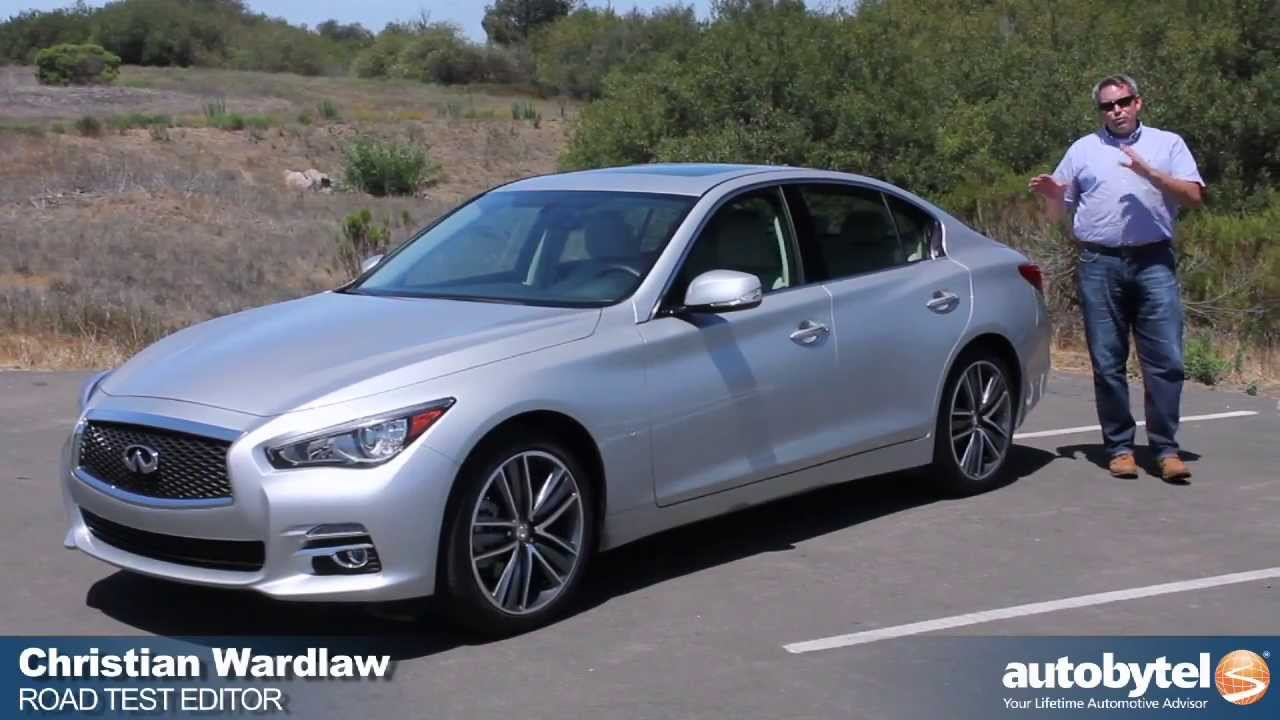 2014 Infiniti Q50 Test Drive Video Review Youtube