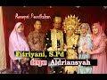 Resepsi Pernikahan Fitriyani, S.Pd & Aldriansyah