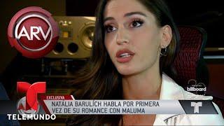 Natalia Barulích habla de su relación con Maluma | Al Rojo Vivo | Telemundo