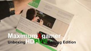 Unboxing HD PVR Gaming Edition. Record your Xbox 360 or PS3 game play on your PC in 1080i HD