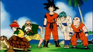 DBZ Goku's friends sees Gohan for the First time