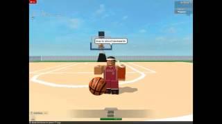 Comment tirer à l'envers sur le basket-ball roblox