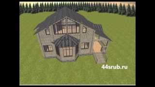 Дом с эркером, проект