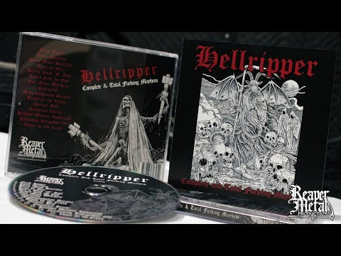 Scottish Black Thrash Metal Band | HELLRIPPER 'Complete And Total Mayhem' [Full Album]