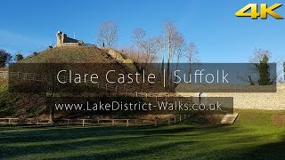 Suffolk Countryside Walks: Clare Castle | Priory | Camp | Phantom 3 Drone (4K/UHD)