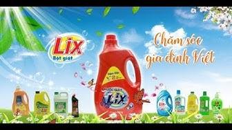 Nước giặt Lix đậm đặc