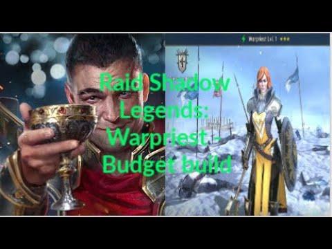 Raid Shadow Legends: Warpriest budget build