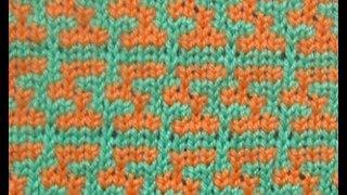 Образец машинного вязания № 39