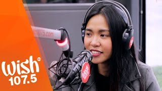 """Aicelle Santos sings """"Ikaw Pa Rin"""" LIVE on Wish 107.5 Bus"""