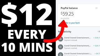 Earn $12 in 10 minutes (make money online now!)