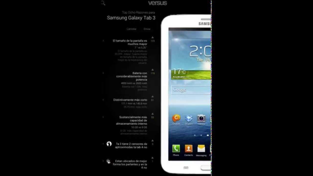 05afa020b99 App para comparar celulares o tabletas HD - YouTube