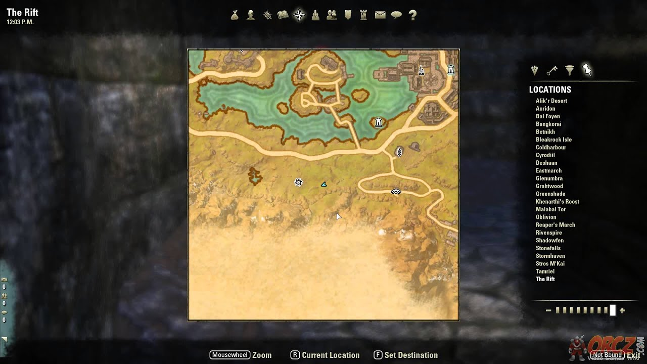 The Rift Ce Treasure Map The Rift CE Treasure Map Location   The Elder Scrolls Online   YouTube