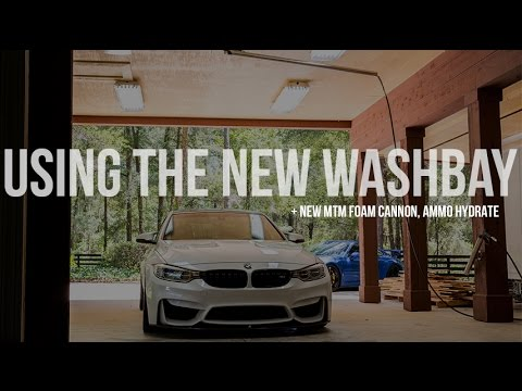 MTM/Uber Super Duper Foam Cannon, AMMO Hydrate, New Kranzle Pressure Washer Used on My F80 M3