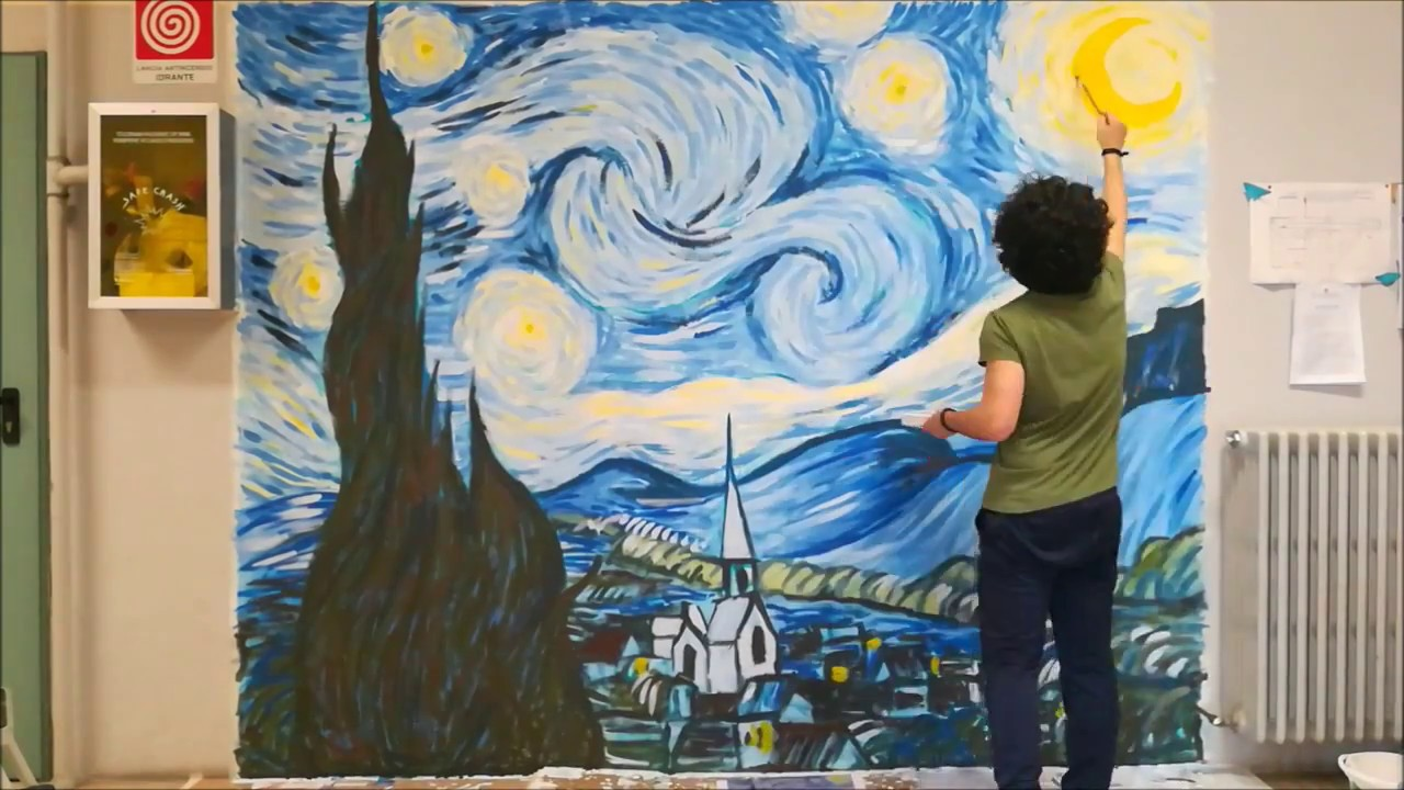 peppe vaccaro starry night vincent van gogh time lapse youtube peppe vaccaro starry night vincent van gogh time lapse