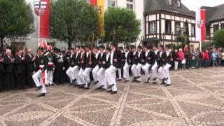 Parade der Junggesellen Schützenfest-Samstag 2013