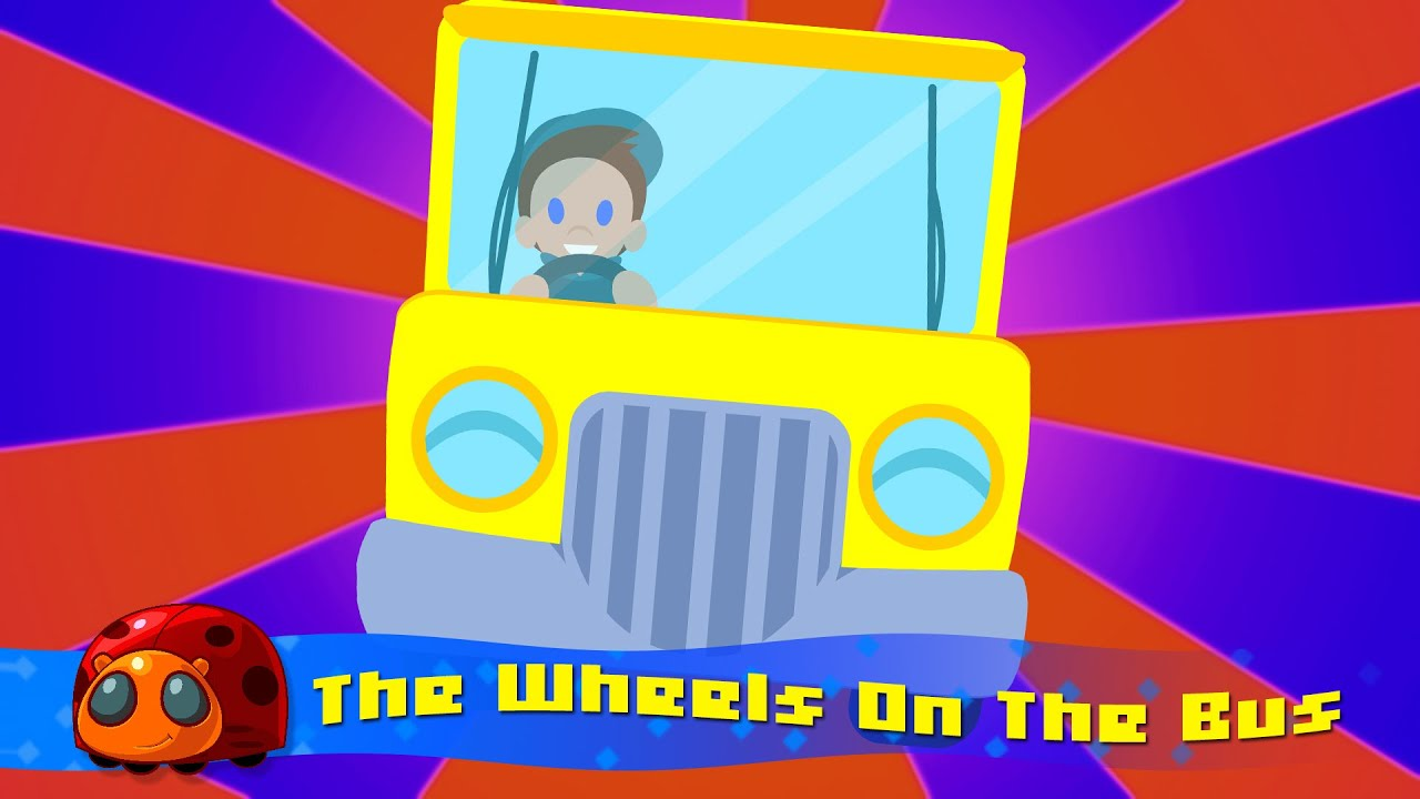 The Wheels On The Bus | Nursery rhymes for kids | JellyBug