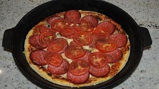 Пицца с Колбасой, Сыром и Грибами! Pizza Выпуск №27