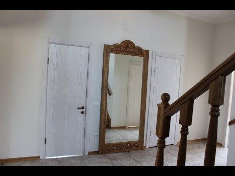 Напольное зеркало из дуба.