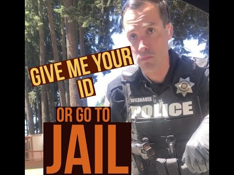 Identify Or Jail (ID Refusal) Illegal Detainment