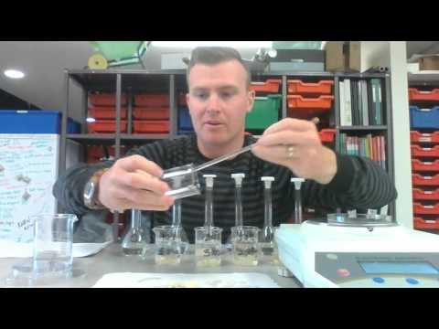 osmosis in potato tissue experiment