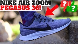mosaico Lirio comodidad  Worth Buying? Nike Air Zoom Pegasus 36 Review + 35 Comparison - YouTube