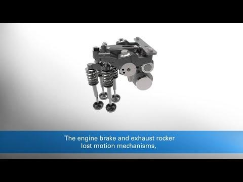 Eaton 1.5 stroke engine brake (1.5S EB) delivers higher braking power vs conventional engine brakes