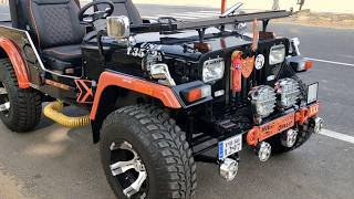 JANDU JEEPS MODIFIED OPEN JEEP AND CLOSE JEEP FOR ORDER 99915 54427