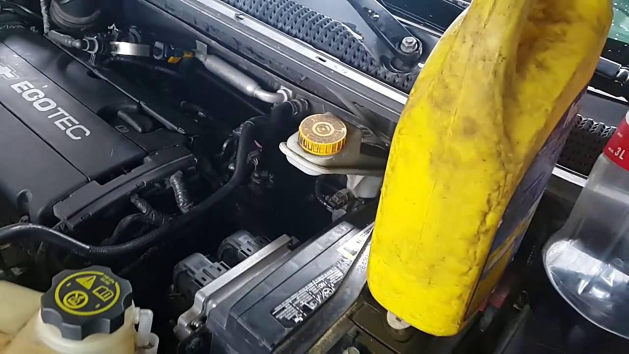 Chevrolet Sonic Jala Aire Y Gasta Gasolina Solucion